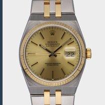 Rolex Datejust Oysterquartz 17013 Πολύ καλό Χρυσός / Ατσάλι 36mm Χαλαζίας
