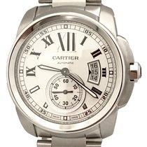 Cartier Calibre de Cartier Steel 42mm Silver Roman numerals United States of America, New York, Huntington Village