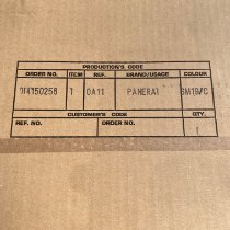 Panerai Titanio Cuerda manual Marrón Arábigos 44mm usados Luminor Base 8 Days