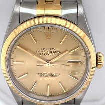 Rolex 16233 Gold/Steel 1992 Datejust 36mm pre-owned United States of America, New York, New York