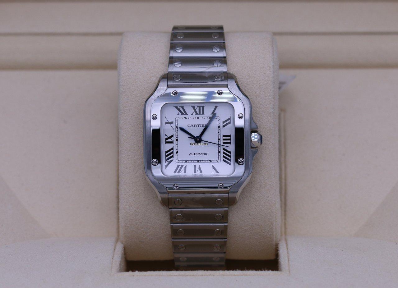 Cartier Santos (submodel) WSSA0029 2021 new