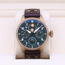 IWC Bronze Automatic Green 46.2mm pre-owned Big Pilot