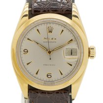Rolex 6494 Gold/Steel Oyster Precision 34mm pre-owned