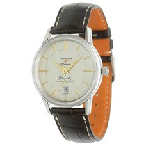 Longines Flagship Heritage Steel 39mm White No numerals United States of America, North Carolina, McLeansville