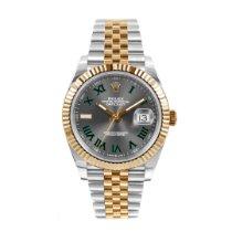 Rolex Datejust Gold/Steel 41mm Grey Roman numerals United States of America, California, Los Angeles