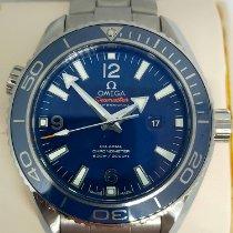 Omega Seamaster Planet Ocean 232.90.38.20.03.001 Bom Titânio 37.5mm Automático