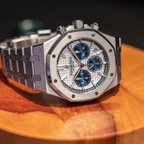 Audemars Piguet Royal Oak Chronograph Steel 38mm Silver No numerals Malaysia, Kuala Lumpur