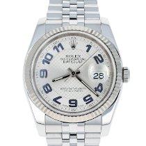 Rolex Datejust Steel 36mm Blue Arabic numerals United States of America, Massachusetts, Boston