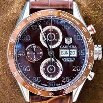 TAG Heuer Carrera Calibre 16 Steel 43mm Brown Arabic numerals United States of America, Texas, Plano