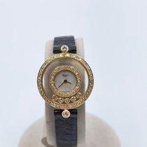 Chopard 203957-0001 Žluté zlato Happy Diamonds 24mm použité