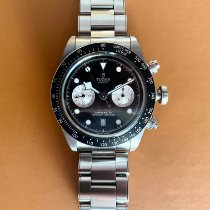 Tudor Watch pre-owned 2021 Steel 41mm No numerals Automatic Watch with original box and original papers