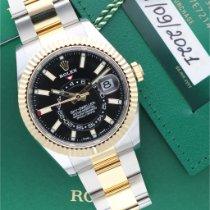 Rolex Sky-Dweller Oro/Acciaio 42mm Nero Senza numeri Italia, Milano