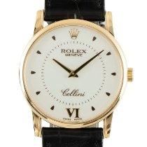 Rolex Cellini Aur galben 32mm Argint