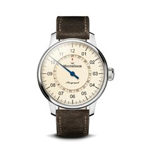 Meistersinger Steel 43mm Automatic AM1003-2 new