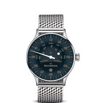 Meistersinger Steel 40mm Automatic AS902OR-2 new