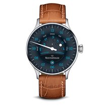Meistersinger Steel 40mm Automatic AS902B-1 new