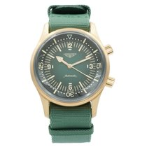 Longines Bronze Automatic Green 42mm pre-owned Legend Diver