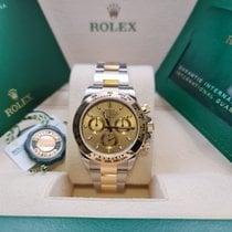 Rolex Daytona Gold/Steel 40mm Champagne No numerals United Kingdom, Fareham