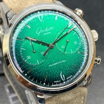 Glashütte Original Sixties Chronograph Steel Green