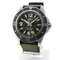 Breitling Superocean 44 Staal 44mm Groen Arabisch