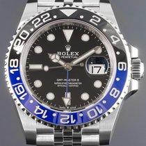Rolex GMT-Master II Stahl 40mm Schwarz Keine Ziffern Deutschland, Essen