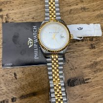 Philip Watch new Manual winding 39mm Gold/Steel Sapphire crystal