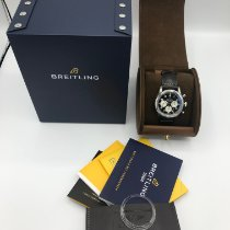 Breitling Navitimer 8 Сталь 43mm Черный Aрабские