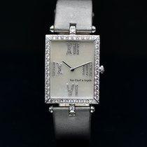 Van Cleef & Arpels HH12506 Muito bom Ouro branco 27mm Quartzo