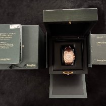 Audemars Piguet Red gold Automatic White No numerals 41mm pre-owned Royal Oak Chronograph