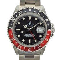 Rolex (ロレックス) GMT マスター II 中古 40mm ブラック ステンレス