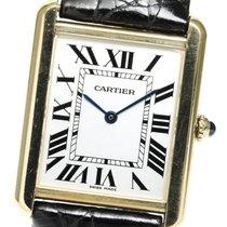 Cartier Quartz Silver 27.5mm pre-owned Tank Solo