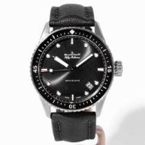 Blancpain Fifty Fathoms Bathyscaphe Titanium 43mm Black