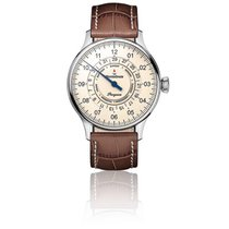 Meistersinger Steel 40mm Automatic Pangaea Day Date new