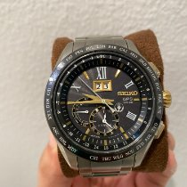 Seiko Astron GPS Solar Titanium 44.8mm Black Roman numerals United States of America, Florida, Heathrow