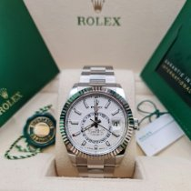 Rolex Sky-Dweller Steel 42mm White No numerals United Kingdom, Fareham