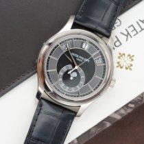 Patek Philippe Annual Calendar White gold 40mm Black No numerals