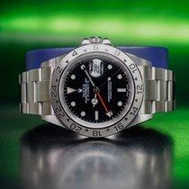 Rolex 16570 Stahl 2006 Explorer II 40mm gebraucht