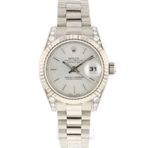 Rolex 179239 Or blanc 2009 Lady-Datejust 26mm occasion