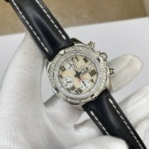 Breitling Chrono Cockpit Staal 39mm Parelmoer Romeins