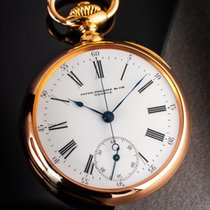 Patek Philippe Chronograph Rose gold 49mm White Roman numerals