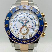 Rolex Yacht-Master II Oro/Acciaio 44mm Bianco Senza numeri Italia, Roma
