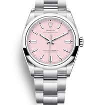 Rolex Oyster Perpetual 36 Steel 36mm Pink No numerals United States of America, New York, New York