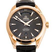 Omega Seamaster Aqua Terra Red gold 41.5mm Grey No numerals