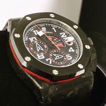 Audemars Piguet Royal Oak Offshore Chronograph Carbon 44mm Black Arabic numerals