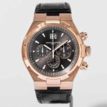 Vacheron Constantin Rose gold Automatic Grey No numerals 42mm pre-owned Overseas Chronograph
