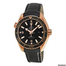 Omega Red gold Automatic Arabic numerals 37.5mm new Seamaster Planet Ocean