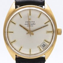 Zenith Stellina Yellow gold 33mm Silver No numerals