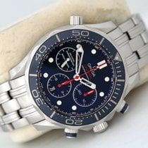 Omega Seamaster Diver 300 M Steel 44mm Blue No numerals United Kingdom, Glasgow