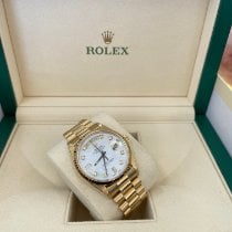 Rolex 18238 Yellow gold 1991 Day-Date 36 36mm pre-owned United States of America, New Jersey, Totowa