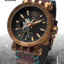 Vostok Bronze 48mm Automatic YN84-575O540 new United States of America, Connecticut, Colchester